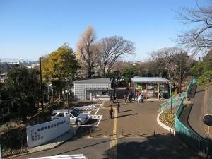 野毛山動物園の入り口