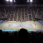 有明コロシアムでテニス観戦デート