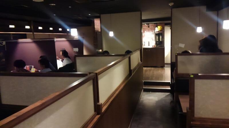 相席屋横浜西口店の店内の様子