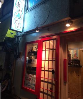相席出会い酒場「あいせき」渋谷の外観