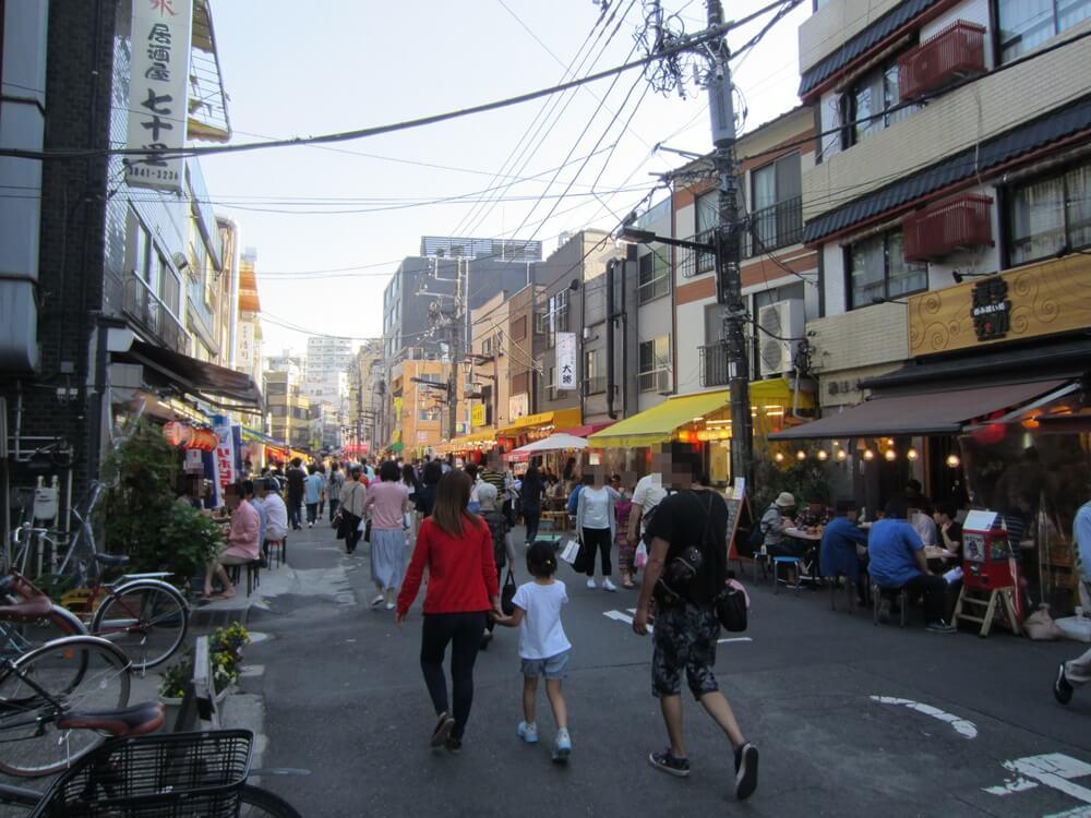 浅草ホッピー通り反対側からの写真