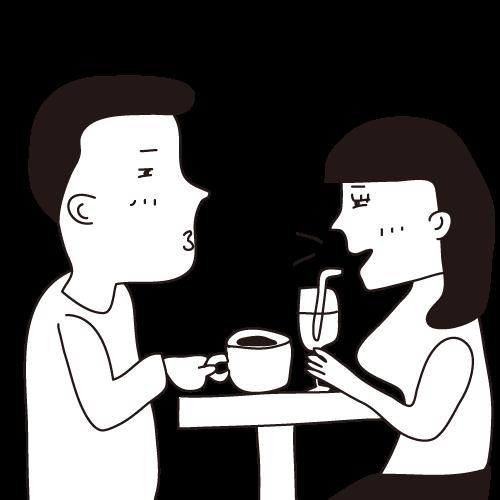 with出会いまでのコツ1:トークを続けてデートへつなげよう