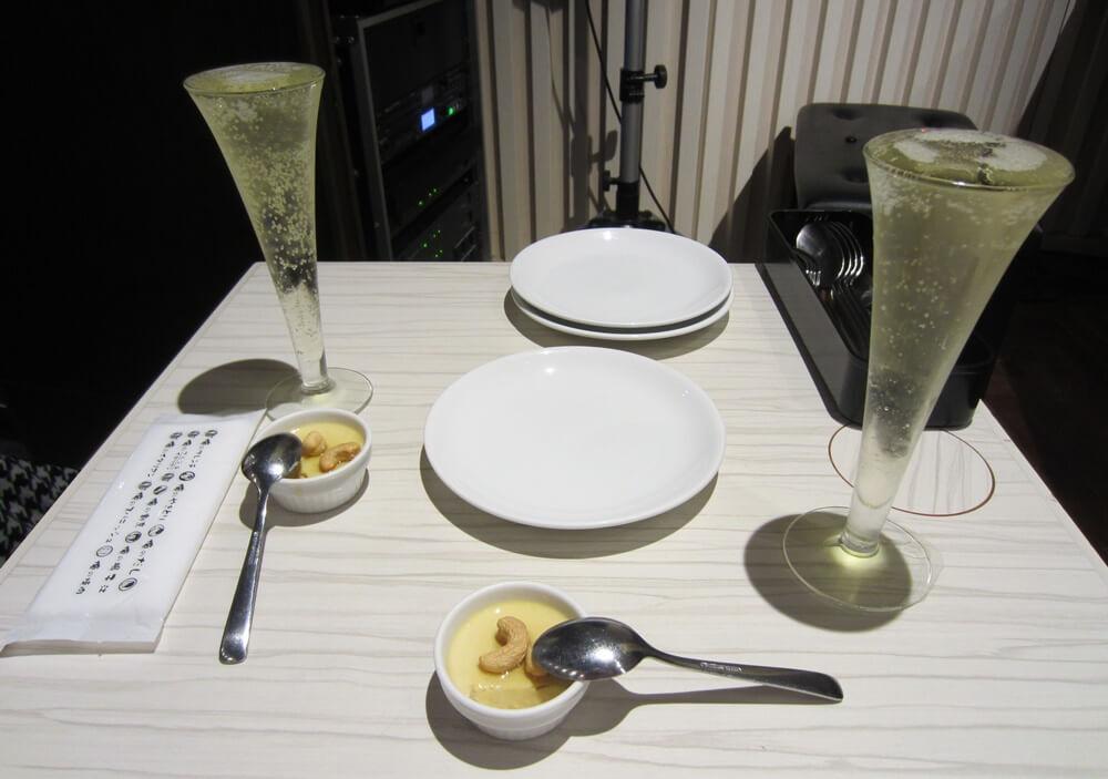 タップルで出会った女性とオレのフレンチで夕食デート