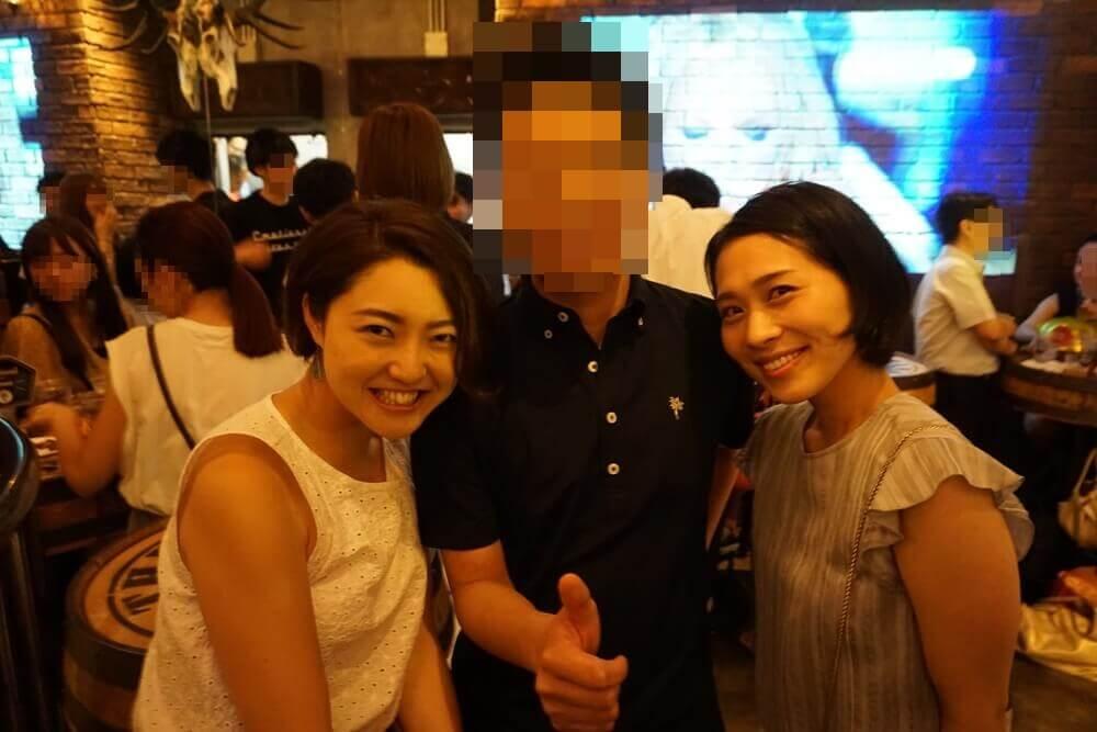 パブリックスタンド新宿歌舞伎町店に来ていたお姉さんたち
