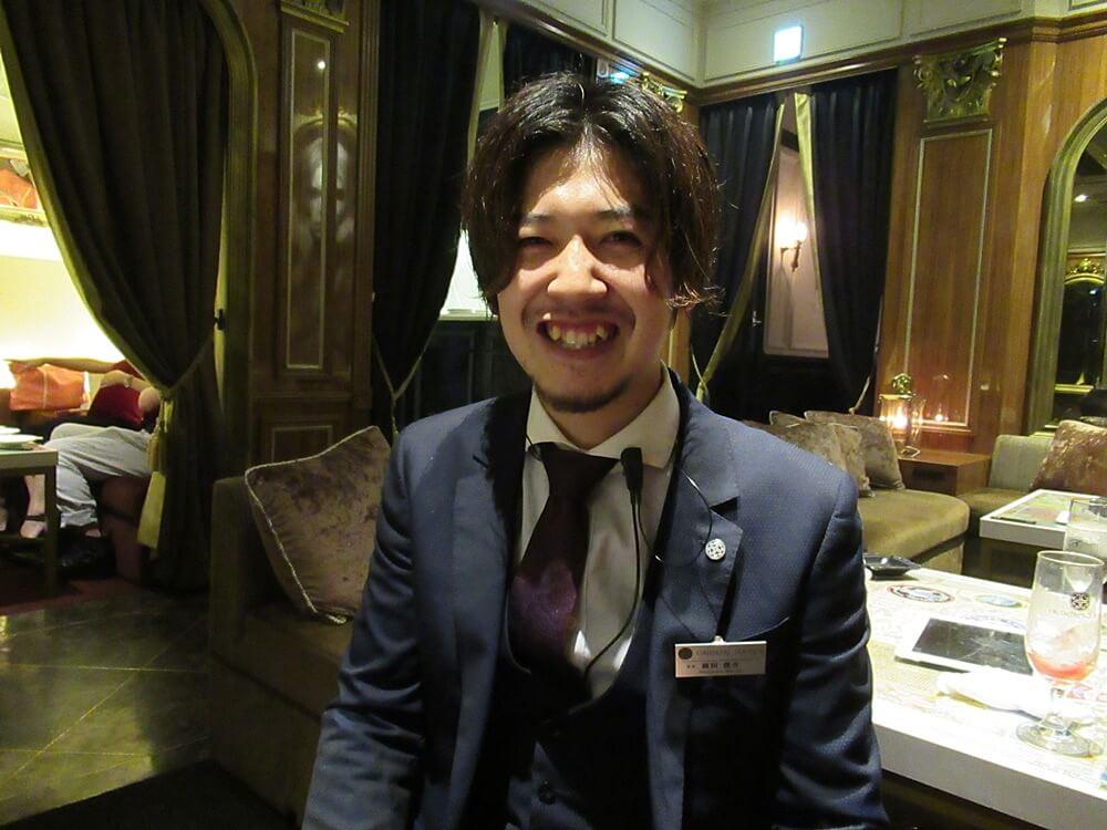 オリエンタルラウンジビット心斎橋代表の前田さん
