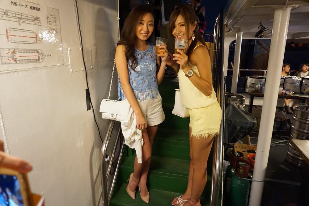 東京湾クルージングを楽しんで!