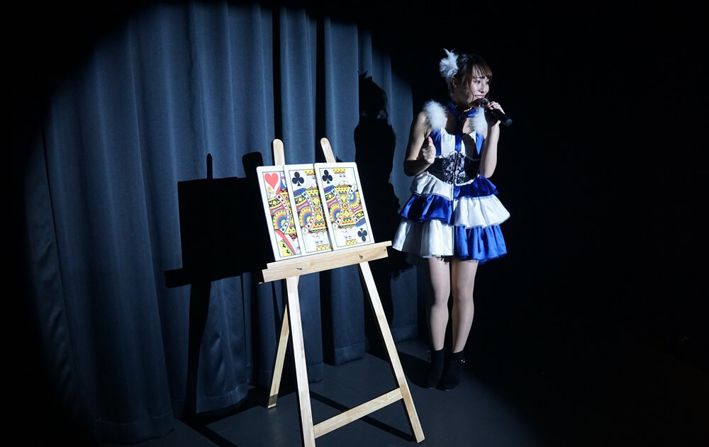 松尾百華さんのカードマジック