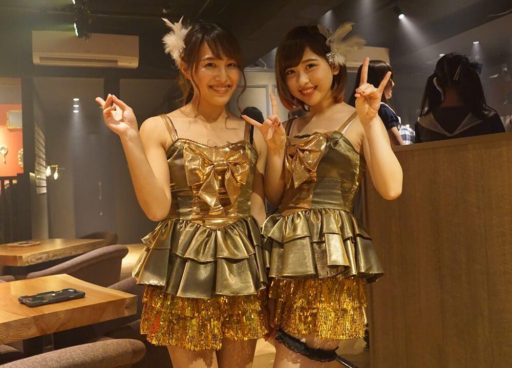 左:松尾百華(まつもも) 右:渡邉樹莉(きりてぃ)