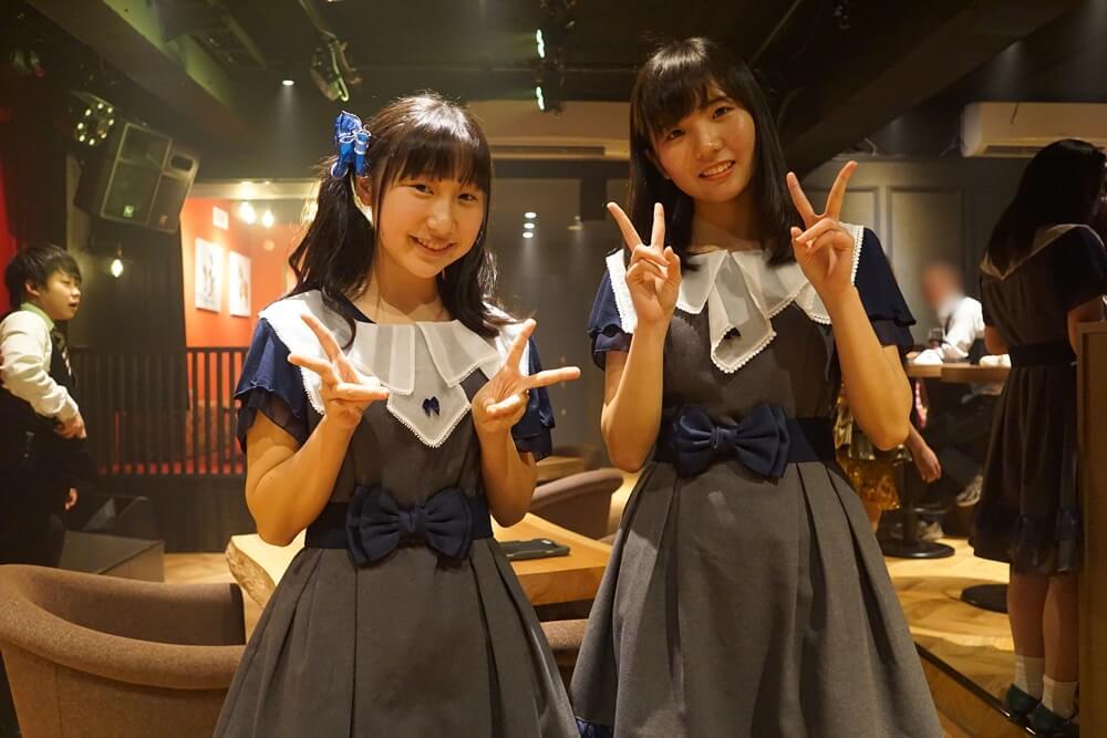 左:住久凜(りん) 右:大川 紗也乃(さやの)