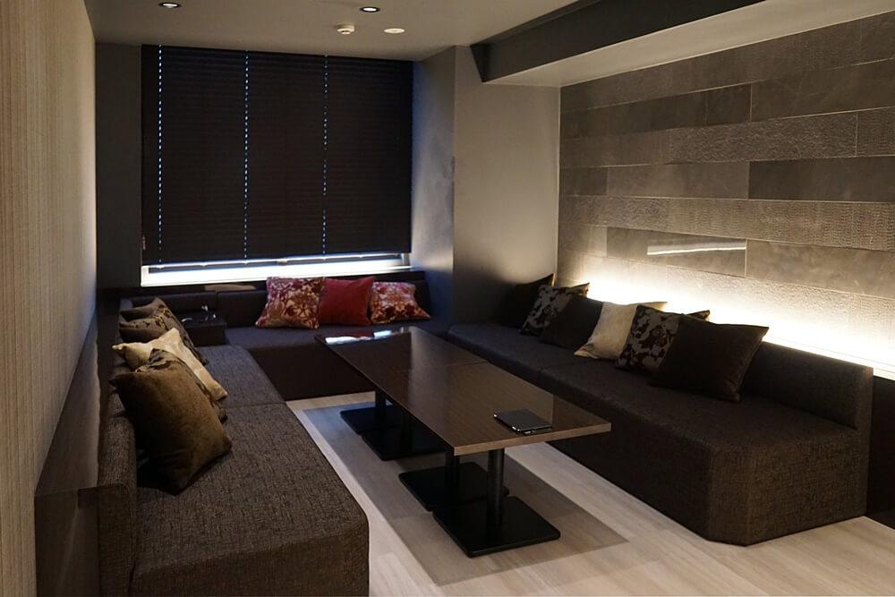 こちらは個室VIPルーム。VIPエリアの席よりもさらに上級席となる。