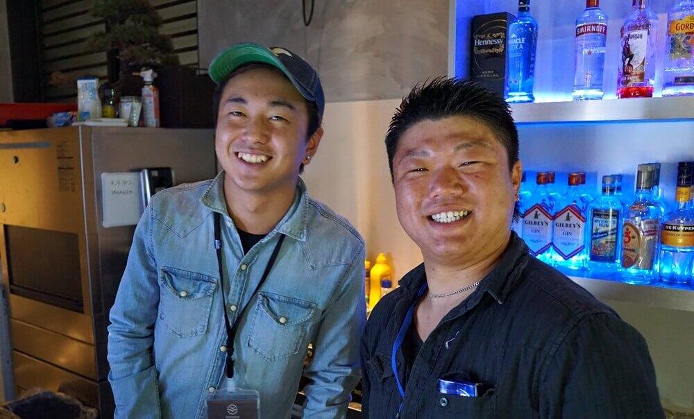 笑顔が素敵なスタッフさんたち