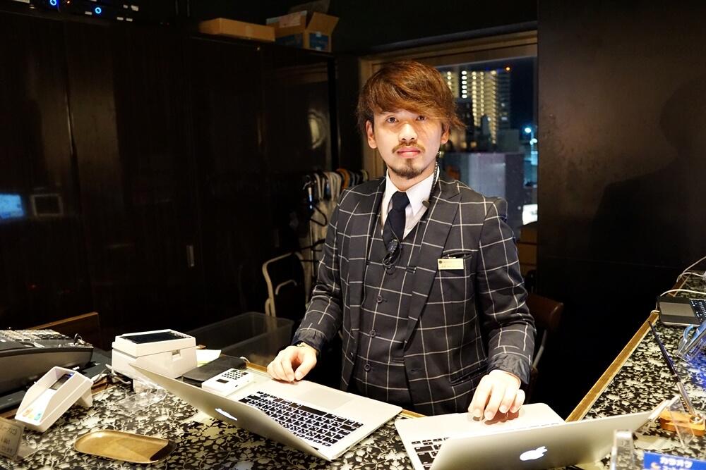 こちらは仙台店の店長さん!なんか写真が微妙ですんません。とてもやさしい方です。