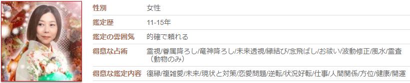 電話カリスの占い師菊代先生への口コミと評判