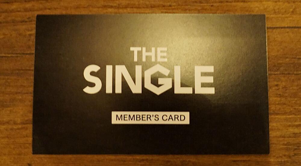 THE SINGLE メンバーズカード
